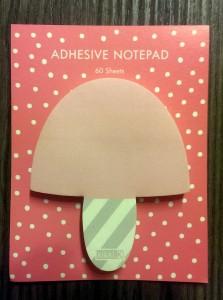 Adhesive Notepad