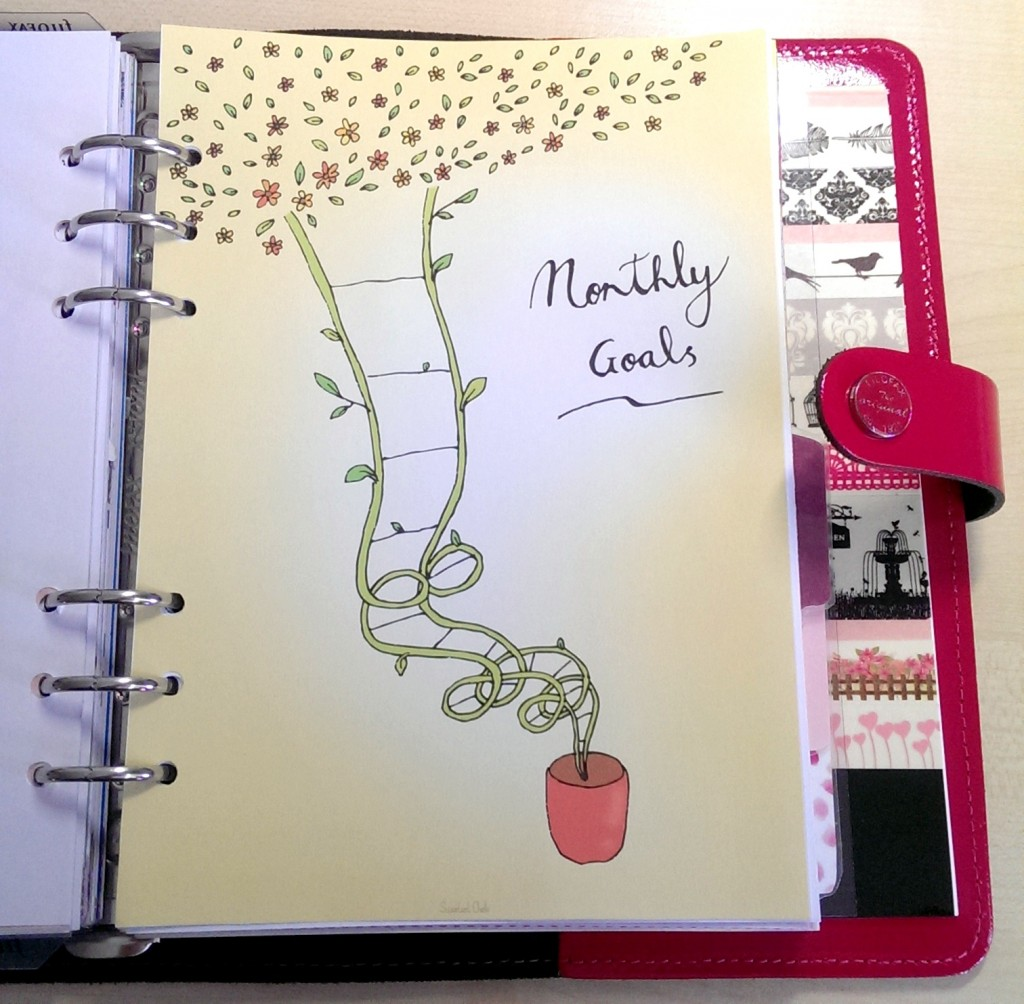 Monats Ziele