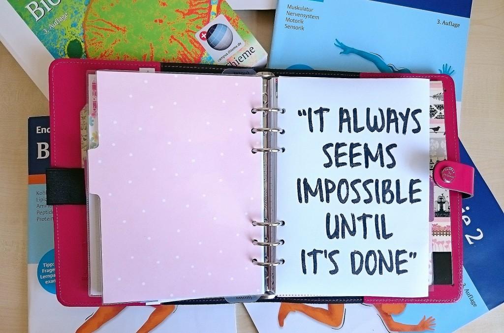 Motivation ist alles!